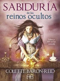 SABIDURIA DE LOS REINOS OCULTOS (+44 CARTAS ORACULO)