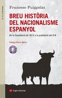 Breu Historia Del Nacionalisme Espanyol - Francesc Puigpelat