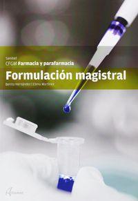 GM - FORMULACION MAGISTRAL - FARMACIA Y PARAFARMACIA - SANIDAD