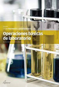Gm - Operaciones Basicas De Laboratorio - Aa. Vv.