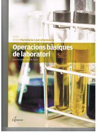 Gm - Operacions Basiques De Laboratori (cat) - Aa. Vv.