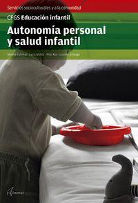 GS - AUTONOMIA PERSONAL Y SALUD INFANTIL - EDUCACION INFANTIL