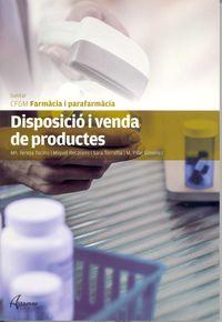 GM - DISPOSICIO I VENDA DE PRODUCTES - FARMACIA I PARAFARMACIA (CAT)