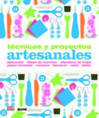 TECNICAS Y PROYECTOS ARTESANALES - APLICACION, ALBUM DE RECORTES, ALFOMBRAS DE TRAPO, PAPEL RECICLADO, MOSAICO, BISUTERIA, VELAS, JABON