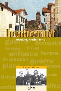 ENFANCE URRUÑAR, UNE - URRUGNE, ANNEES 30-40