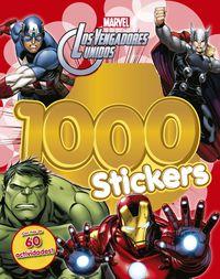 Vengadores, Los - 1000 Stickers - Libro De Actividades Con 1000 Pegatinas - Marvel