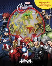 Vengadores, Los - Historias Animadas - Libro Con 10 Figuritas - Aa. Vv.