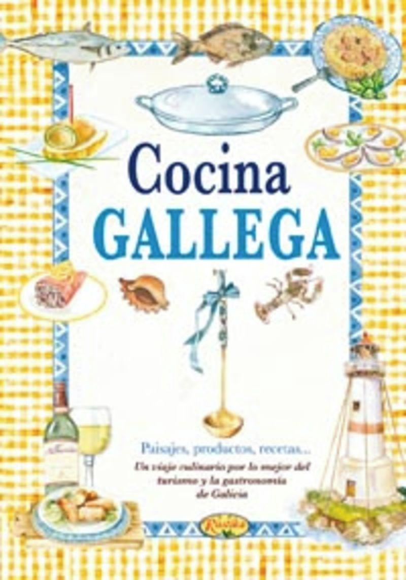 Cocina Gallega - El Sabor De Nuestra Tierra - Aa. Vv.