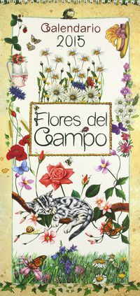 Calendario 2015 Flores Del Campo (r0010012) - Aa. Vv.