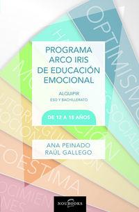 PROGRAMA ARCO IRIS DE EDUCACION EMOCIONAL - DE 12 A 18 AÑOS