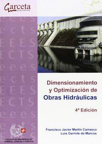 (4ª Ed)  Dimensionamiento Y Optimizacion De Obras Hidraulicas - Aa. Vv.