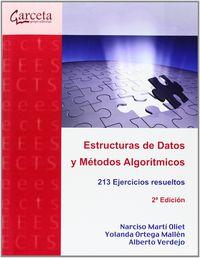 (2 ED) ESTRUCTURAS DE DATOS Y METODOS ALGORITMICOS - 213 EJERCICIOS RESUELTOS
