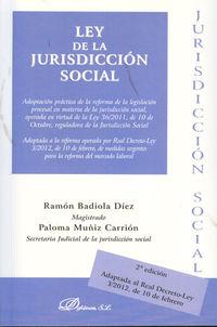 LEY DE LA JURISDICCION SOCIAL 2012 (2ª ED)