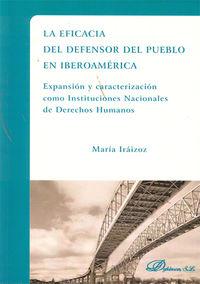 La eficacia del defensor del pueblo en iberoamerica - Maria Iraizoz Lopez-Arroba