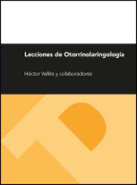 LECCIONES DE OTORRINOLARINGOLOGIA