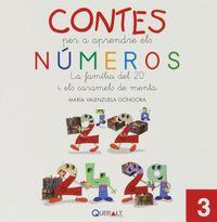 Contes Per Aprendre Els Numeros 3 - La Familia Del 20 I Els Caramels De Menta - Maria Valenzuela Gongora