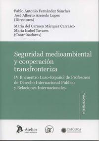 SEGURIDAD AMBIENTAL Y COOPERACION TRANSFRONTERIZA
