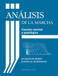 Analisis De La Marcha - Jacquelin Perry / Judith M. Burnfield
