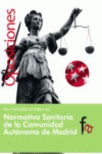 Normativa Sanitaria De La Comunidad Autonoma De Madrid - Pilar Navarro