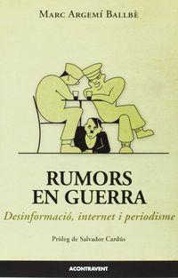 RUMORS DE GUERRA