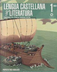 BACH 1 - LENGUA CASTELLANA Y LITERATURA (AND) - ITACA