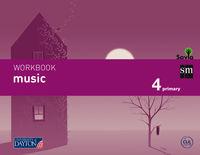EP 4 - MUSICA CUAD. (INGLES) - MUSIC WB - SAVIA