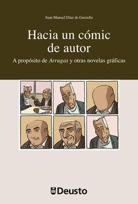 HACIA UN COMIC DE AUTOR - A PROPOSITO DE ARRUGAS Y OTRAS NOVELAS GRAFICAS