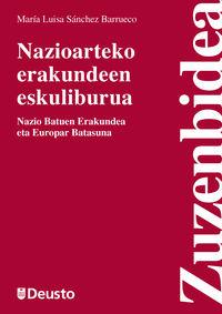 NAZIOARTEKO ERAKUNDEEN ESKULIBURUA - NAZIO BATUEN ERAKUNDEA ETA EUROPAR BATASUNA