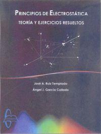 PRINCIPIOS DE ELECTROSTATICA - TEORIA Y EJERCICIOS RESUELTOS