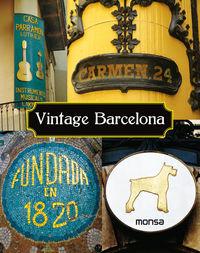 Vintage Barcelona - Aa. Vv.
