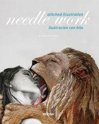 NEEDLE WORK - ILUSTRACION CON HILO