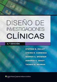 (4ª Ed. )  Diseño De Investigaciones Clinicas - Stephen Hulley