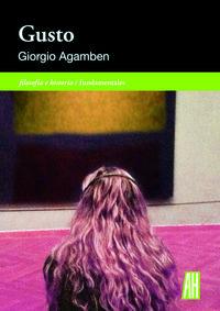 Gusto - Giorgio Agamben