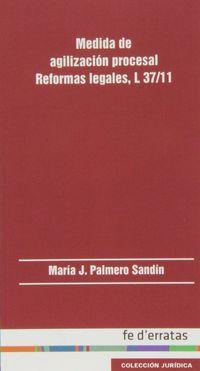 MEDIDA DE AGILIZACION PROCESAL