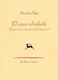 Arpa Olvidada, El - Guia Para Lectura De La Poesia - Jose Luis Vega