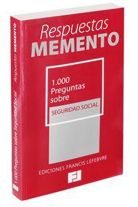 (2013) 1000 PREGUNTAS SOBRE SEGURIDAD SOCIAL