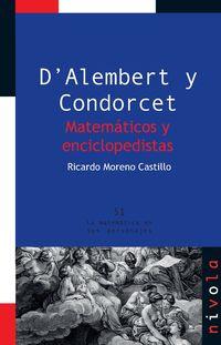D'alembert Y Condorcet - Matematicos Y Enciclopedistas - Ricardo Moreno Castillo