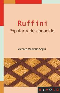 RUFFINI - POPULAR Y DESCONOCIDO