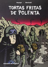 TORTAS FRITAS DE POLENTA