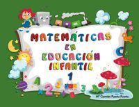 Matematicas En Educacion Infantil 1 - Maria Carmen Puerta Puerta