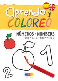 APRENDO Y COLOREO NUMBERS FROM 1 TO 9