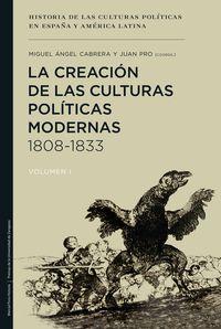 Creacion De Las Culturas Politicas Modernas, La (1808-1833) - Miguel Angel Cabrera Acosta / Juan Pro Ruiz