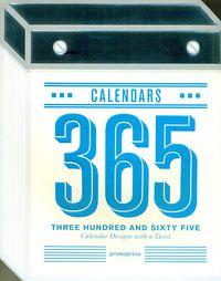 365 calendars - calendar designs with a twist - Weiming Huang (ed. )