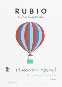 EDUCACION INFANTIL 2 - LOS MEDIOS DE TRANSPORTE