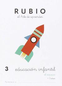 EDUCACION INFANTIL 3 - EL ESPACIO