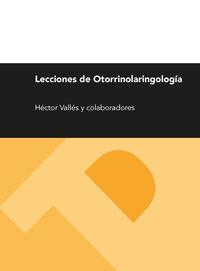 (2ª ED) LECCIONES DE OTORRILARINGOLOGIA