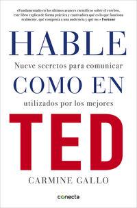 Hable Como En Ted - Carmine Gallo