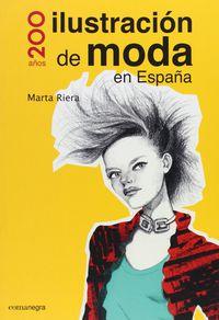 200 AÑOS ILUSTRACION DE MODA EN ESPAÑA