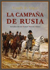 La campaña de rusia - Philippe Paul De Segur