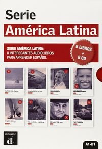 SERIE AMERICA LATINA (8 LIBROS + 8 CD)